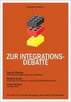 Plakat zur Integrationsdebatte